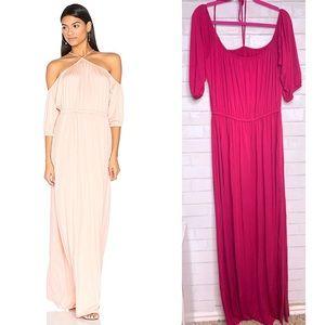 RACHEL PALLY | Gia Lorenzia Tie Neck Maxi Dress 2X